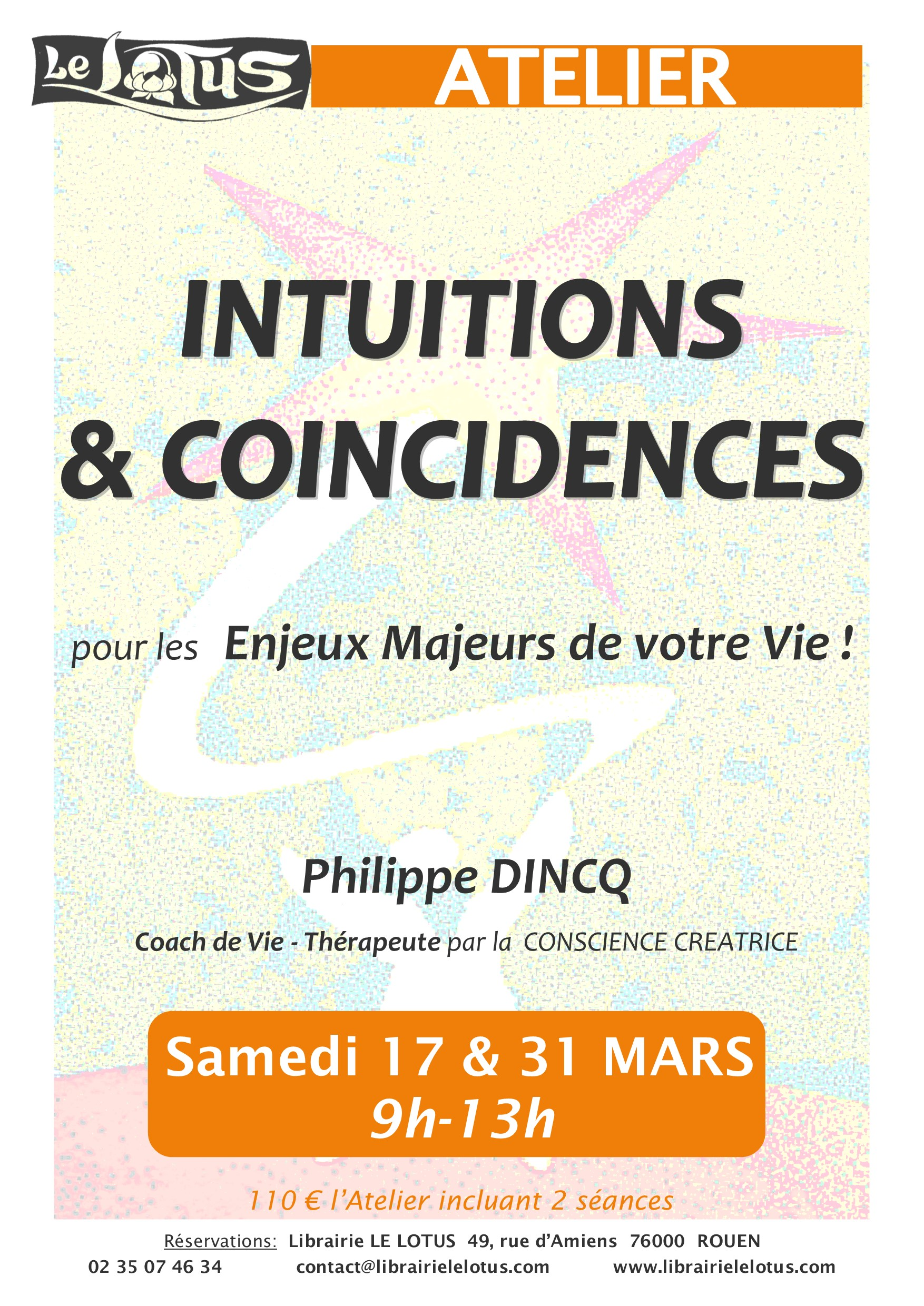 ATELIER - INTUITIONS &COINCIDENCES - MARS