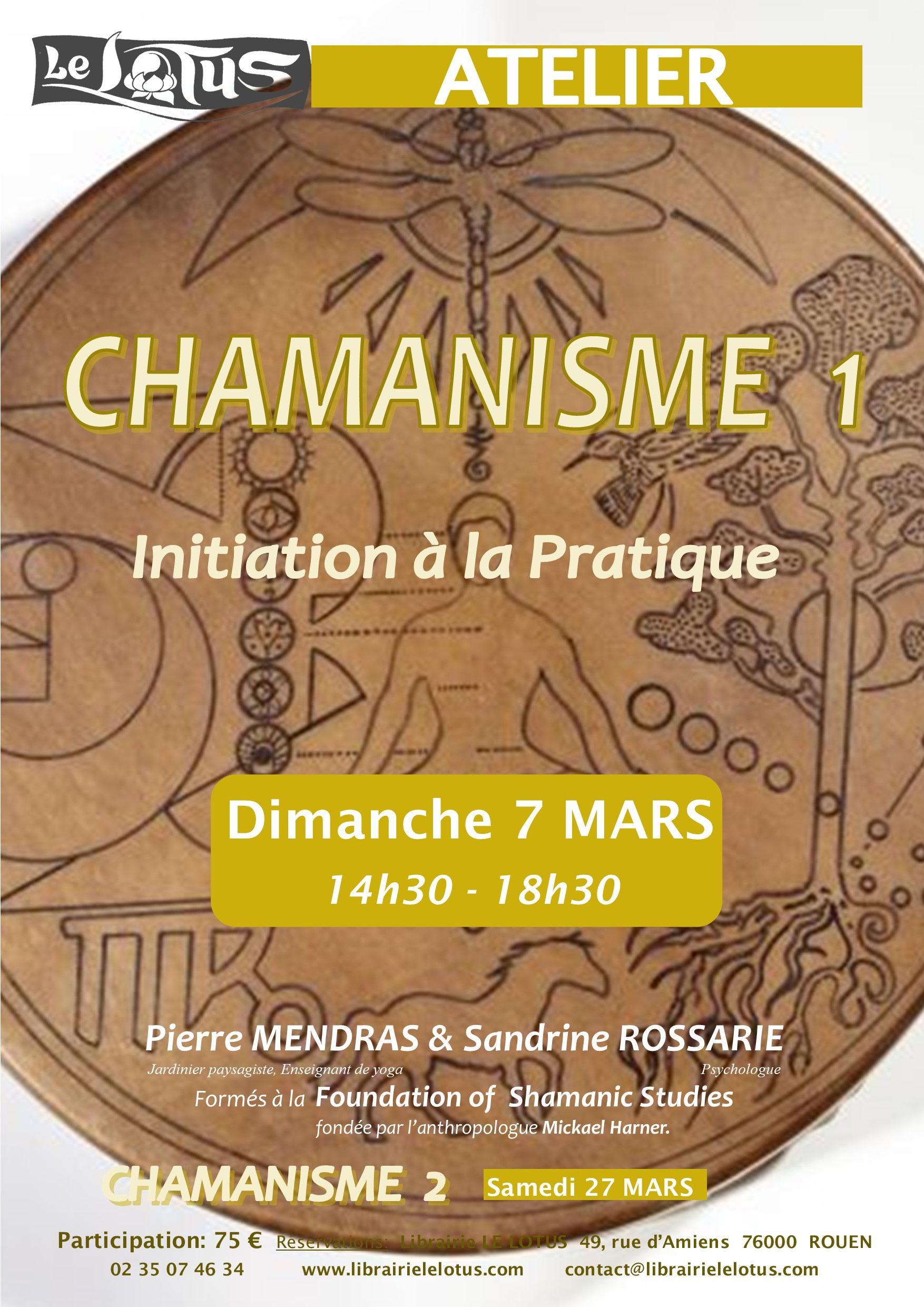 ATELIER - CHAMANISME 1 - INITIATION
