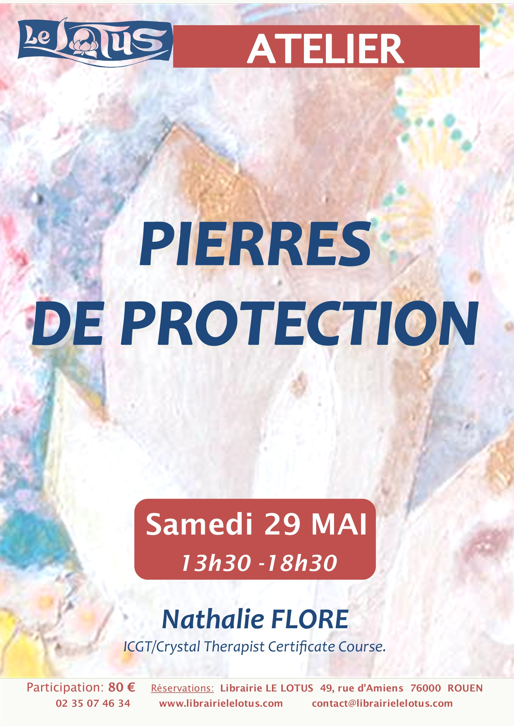 ATELIER - PIERRES DE PROTECTION